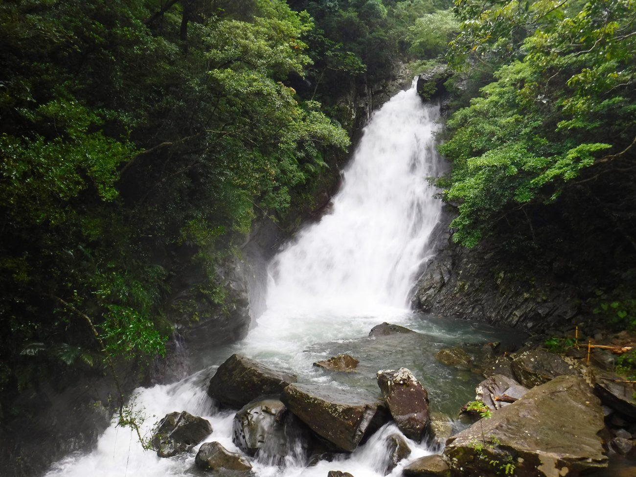 沖縄県国頭村 やんばる 比地大滝